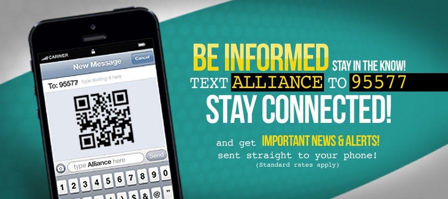 Text MS Healthcare Alliance