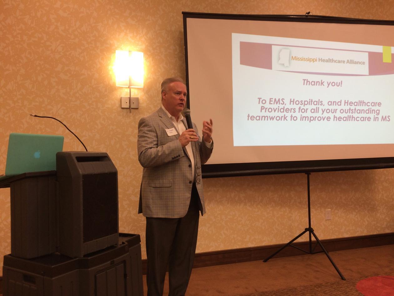 Dr. Harper Stone, President MS Healthcare Alliance