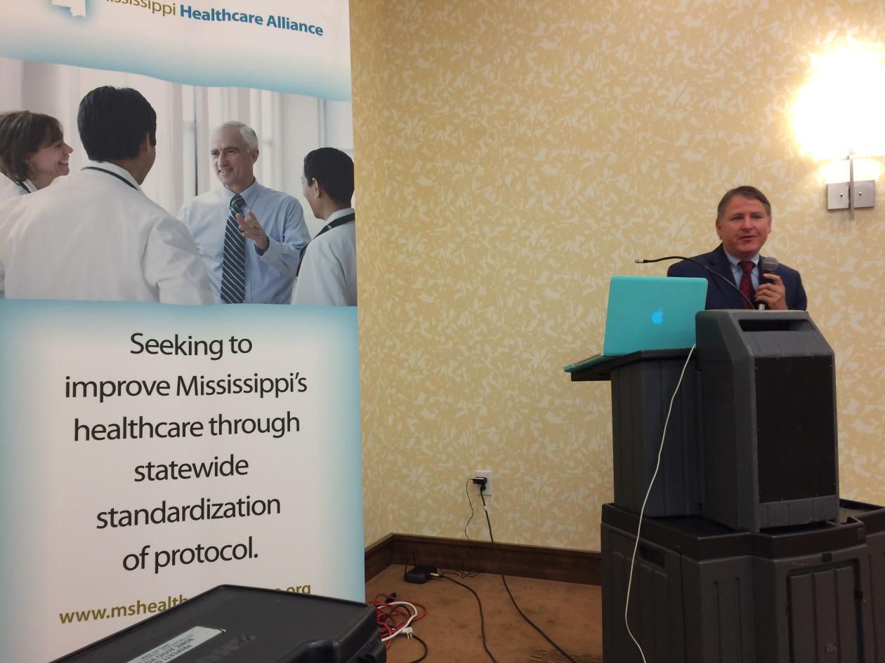 Dr. James Jollis presents STEMI System of Care