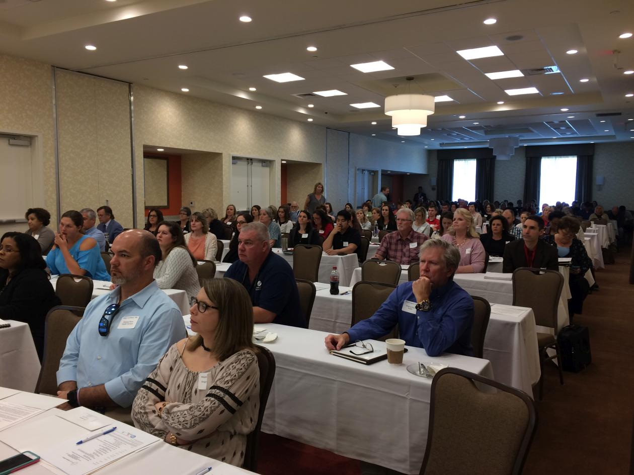 We had 155 in attendance at the statewide symposium.