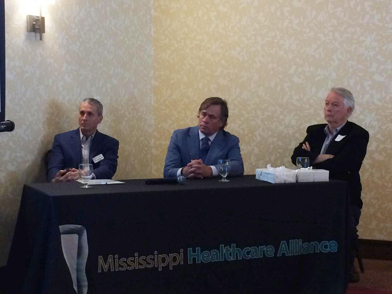 Expert Panel:  l to r:  Dr. Barry Bertolet, Dr. David Gaieski, Dr. Thad Waites